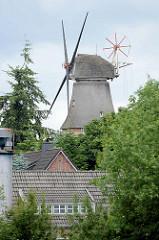 Stifsmühle in Aurich - ehem. Stadtmühle, technisches Baudenkmal - erbaut 1858