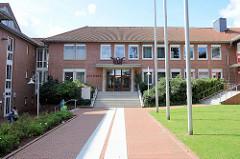 Rathausgebäude von Schneverdingen.