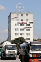Bürohaus an den Elbbrücken - Billhorner Brückenstraße in Hamburg Rothenburgsort; erbaut 1948.
