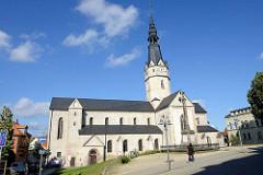 St. Ulrici Kirche in Sangerhausen - romanischer Baustil; Bestandteil der Straße der Romanik, ursprünglich erbaut im 12. Jahrhundert.