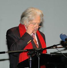 Ralph Giordano bei der Bertini-Preisverleihung im Ernst-Deutsch-Theater.