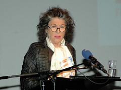 Lea Rosh bei einer Bertini-Preis-Verleihung im Ernst Deutsch Theater.