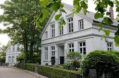 Historische Wohnhäuser - Architektur in Jever.