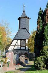 Friedhofskapelle auf dem Neustadt Friedhof in Stolberg / Harz.
