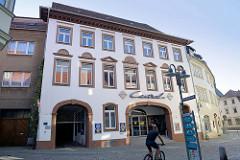 Central Kino / Movie Star am Kornmarkt in Sangerhausen.