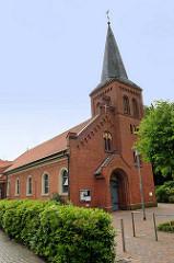 St. Ludgerus Kirche in Aurich - erbaut 1849, Erweiterung 1903.