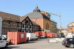 Industriedenkmal der alten Brauerei in Eisenach, errichtet um 1908.