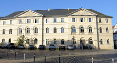 Studienzentrum der Herzogin Anna Amalia Bibliothek am Platz der Demokratie in Weimar.