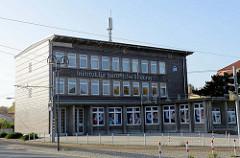 Institut für berufliche Bildung Gotha, erbaut 1935 - Architekt Werner Issel; Ehemaliges Verwaltungsgebäude der Thüringer Elekrizitäts-Lieferungs-Gesellschaft.