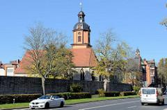 Ehemalige Kirche Sankt Kiliani, als Filialkirche und Pestkirche genutzt; Leerstand seit den 1960er Jahren, Lager einer Automobilwerkstatt - jetzt Nutzung als Theaterwerkstatt.