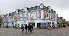 Gründerzeitarchitektur in Bad Segeberg / am Markt