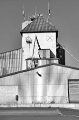 Silo / Lager - Industriearchitektur in der Industriestraße von Duderstadt.