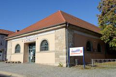 Sozialkaufhaus  inpetto an der Johannisstraße von Mühlhausen.