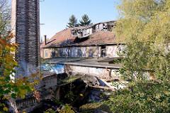 Alte Fabrikgebäude an der Brühl in Weimar.