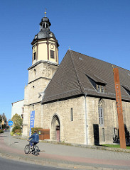 Martini Kirche in Mühlhausen/Thüringen, ursprünglich erbaut um 1358. Übernahme durch den Deutschen Orden 1364 - jetzt Nutzung als Jugendkirche.