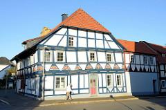 Denkmalgeschütztes Wohnhaus in der Neutorstraße von Duderstadt.