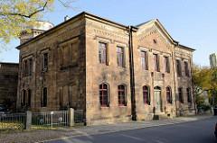 Neue Herzogliche Sternwarte Gotha, errichtet 1859 - Planung Gothaer Baurat Gustav Eberhard.