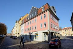 Wohnhäuser / Denkmalensemble an der Straße Graben in Weimar