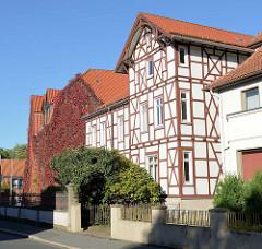 Denkmalgeschütztes Fachwerk-Wohnhaus in der  Christian-Blank-Straße von Duderstadt.
