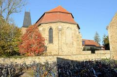 Sankt Peter und Paul in Oberweimar / Stadt Weimar; ehemaliges Nonnenkloster des Zisterzienserordens - 1361 entstand eine gotische Klosterkirche, die 1733 nach Plänen von Johann Adolf Richter Stil des Barock umgebaut wurde.