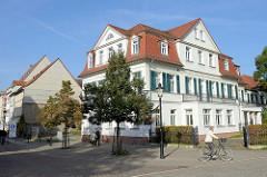 Wohnhäuser bei der Marienmauer in Naumburg.