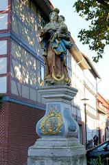 Marienskulptur am Pferdeteich / Westertorstraße in Duderstadt.