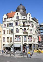 Hansahaus am Wieland Platz in Weimar, Jugendstilarchitektur - erbaut 1905.