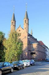 Liebfrauenkirche in Duderstadt - Klosterkirche vom Ursulinenkloster;.