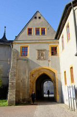 Torhaus der Bastille  am Stadtschloss von Weimar.