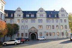 Rotes Schloss in Weimar, erbaut 1576 als Witwensitz der Herzogin Dorothea Susanne; jetzt Nutzung als Forschungsbibliothek.
