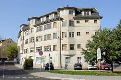 Leer stehendes Verwaltungsgebäude / Wohnhaus  an der Barfüßerstraße in Eisenach.