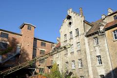Alte Fabrikgebäude an der Brühl in Weimar