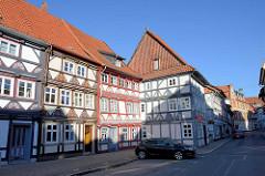 Fachwerkarchitektur in der Altstadt von Duderstadt - Steintorstraße.