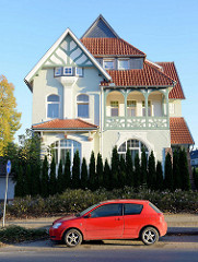 Jugendstilvilla in der Göttinger Straße von Duderstadt.
