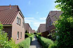 Ferienhaussiedlung / Seepark Burhave; ca. 113 Häuser nahe der Nordsee in Burhave.