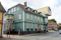 Blick zum Spielzeugmuseum in Soltau, gegründet 1984 - Poststraße