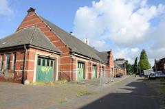 Alte Garagen, Teil eine historischen Kasernenanlage in Wilhelmshaven.