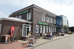 Eingang zur Strandhalle am Südstrand von Wilhelmshaven