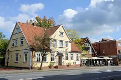 Gebäude des ehemaligen Ratskellers in der Poststraße von Soltau - heute Nutzung als Restaurant