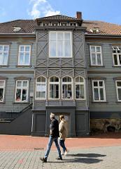 Historisches zu Wohn- und Geschäftshaus in der Fußgängerzone / Marktstraße von Soltau.
