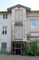 Gebäude der alten Ratsmühle / Wassermühle in Soltau - Nutzung des Ratsmühlengebäude bis 2004, seitdem steht das denkmalgeschützte Gebäude leer.