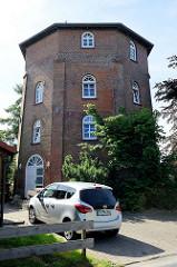 Alter Backsteinspeicher Burhave, Nutzung als Wohngebäude.