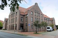 Altes Postgebäude an der Bergstraße in Soltau jetzt Nutzung u. a. als Bildungszentrum