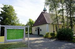Kirche Herz-Mariä der katholischen Kirchengemeinde St. Willehad Nordseebad Burhave.