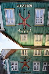 Fassade vom Spielzeugmuseum in Soltau, gegründet 1984.