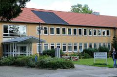 Gebäude A / Information vom Finanzamt Soltau im Rühberg.