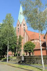 Luther-Kirche in Soltau; geweiht 1911 - Architekt Eduard Wendebourg.