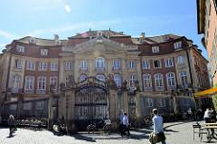 Erbdrostenhof in Münster - barockes Adelspalais in der Salzstraße, erbaut 153 -1757.