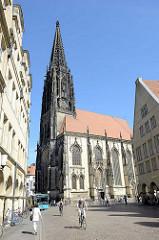 St. Lamberti Kirche in Münster, erbaut zwischen 1375 und 1525.