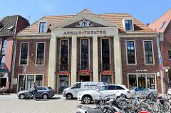 Apollo Theater in Münster - ehem. Lichtspielhaus, jetzt Nutzung als Geschäftshaus; Architekt Ernst Horst, 1937.